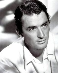 """Gregory Peck was elegant, strong, beautiful and an accomplished actor. My Aunty used to call him """"my Gregory."""""""