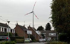Halluin: Les riverains des éoliennes belges souffrent (presque) en silence