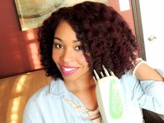 Q-Redew Review: Using Steam For Healthier Hair - YouTube
