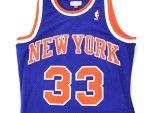 New York Knicks Patrick Ewing #33 Mitchell & Ness Swingman Jersey