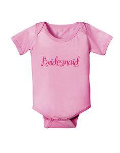 TooLoud Bridesmaid Design - Diamonds - Color Baby Romper Bodysuit