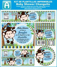 All Invitations: Kit Baby Shower tema Changuito