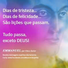 Receba mais mensagens espíritas. Curta a nossa página no Facebook www.facebook.com/MeuLivroEspirita ____________________  #Espiritismo #espiritualidade #chicoxavier #allankardec #livroespirita #meulivroespirita #mediunidade #divaldofranco #instaespirita #zibiagasparetto #bezerrademenezes #andreluiz #emmanuel #joannadeangelis
