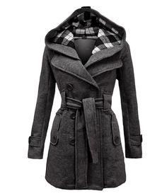 ff0ce04e3aa3f Mulheres primavera casaco feminino casaco 2016 abrigos mujer sobretudo  misturas de lã poncho inverno manteau femme