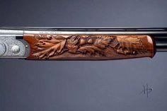 gun stock carving