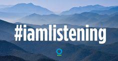 Are you listening? Support nature—take the #NatureIsSpeaking pledge now! http://natureisspeaking.org/takethepledge.html