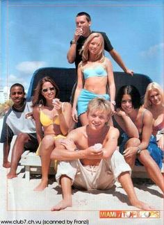 Sclub 7 estos son noventeros pero ya casi pegado al 2000. De 1998, los amaba. S Club 7, Nickelodeon, Present Day, Sumo, Estate 2015, Wrestling, Sports, Miami, Hotels