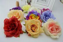 1 pcsCrimping rose 7 cm flores de seda DIY bolas garland flor horquilla ramillete de flores la cabeza tienda de flores(China (Mainland))