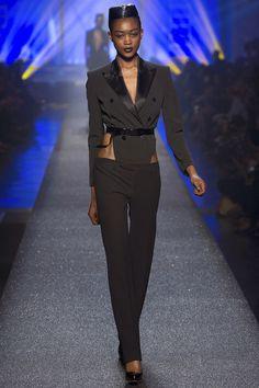 Suit reconstructed. Jean Paul Gaultier Spring 2013 xoxo, k2obykarenko.com