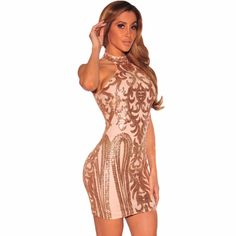 Summer Dress 2017 Sexy Bodycon Woman Sexy Elegant Vestidos De Fiesta Off Shoulder Pink Black Vintage Sequins Print Club Dress
