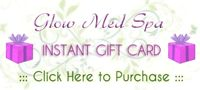 Gift card for massage at Glow Med Spa - Northside location