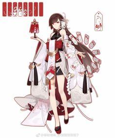 Pin van Kuro Shiro op Onmyoji in 2019 Anime Kimono, Anime Dress, Yukata, Girls Characters, Female Characters, Manga Girl, Anime Art Girl, Anime Girls, Character Design References