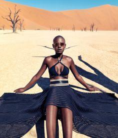 "Narcisse Magazine ""Those Without Shadows"" desert fashion editorial"