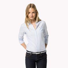 Tommy Hilfiger Sithaca Shirt - shirt blue/ classic white stripe (Blue) - Tommy Hilfiger Shirts - main image