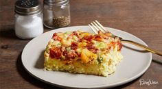 Slow-Cooker Breakfast Casserole via @PureWow via @PureWow  -- without hashbrowns