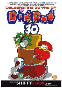 ShiftyLook brings back Dig Dug for 30th anniversary with webcomics all-stars