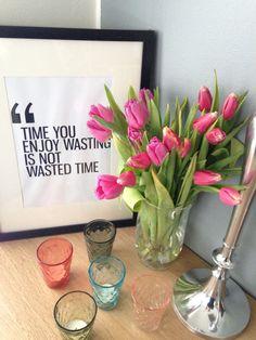 Kevättä odotellessa. Waiting for the spring. #tulips