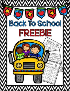 Back to School Math Freebie for 2nd grade-- Mental Math, Addition and Subtraction Word Problems, Ordering Numbers, Counting Money, and Math Facts to 12