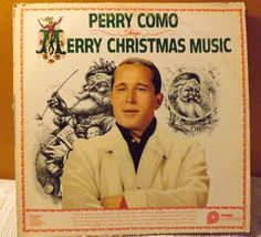 Perry Comos 1961 Record Merry Christmas by JandDsAtticTreasures, $8.00