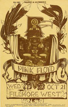 Pink Floyd (Oct.21.1970 at Fillmore West, San Francisco, CA)