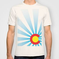Colorado Sunrise Tshirt found out Society6.com # DURANGO #COLORADO #COLORADOBORN #COLORADOPRIDE #CO #COPRIDE #TANKTOP #MENSCLOTHING #WOMENSCLOTHING #GRAPHICDESIGN #DESIGN