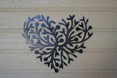metal heart...love by GarysCustomMetalwork on Etsy https://www.etsy.com/listing/255867824/metal-heartlove