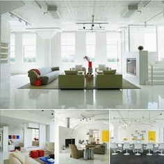 Glossy Floors and Colorful Accessories