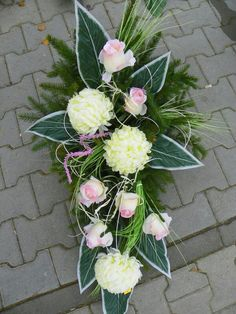 Internet Casket Flowers, Grave Flowers, Cemetery Flowers, Funeral Flowers, Funeral Floral Arrangements, Church Flower Arrangements, Beautiful Flower Arrangements, Flowers For You, Black Flowers