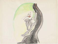 Watercolor and felt-tip pen on cardboard 19 9/16 x 25 1/2″ (49.7 x 64.7 cm). The Museum of Modern Art, New York. Gift of The Judith Rothschild Foundation. © The Estate of Alina Szapocznikow/Piotr Stanisławski/ADAGP, Paris