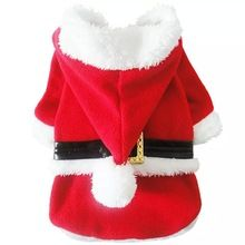 Dog Cat Christmas Sweater Hoodie Jacket Coat Clothes Party Apperal 4 sizes available(China (Mainland))