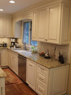 cream cabinets with Cocoa Glaze