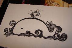 Desenho Fofo: Baleia / Imagens Fofas para Tumblr, We Heart it, etc | We Heart It