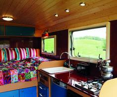 fantastic camper van interior!