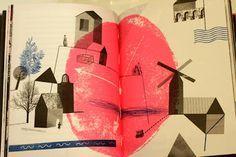 Workshop for children: Bologna Book Fair 2012. Illustration by Anna Rydel-Czerwińska