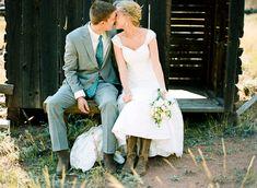 boots!   Cassidy Brooke #wedding
