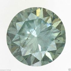 MOISSANITE I1 CLARITY JEWELRY 0.48 CT GREENISH COLOR GEMSTONE LOOSE ROUND SHAPE
