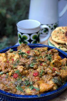 Turkish Recipes, Indian Food Recipes, Vegetarian Recipes, Cooking Recipes, Healthy Recipes, Ethnic Recipes, Spicy Eggplant, Good Food, Yummy Food