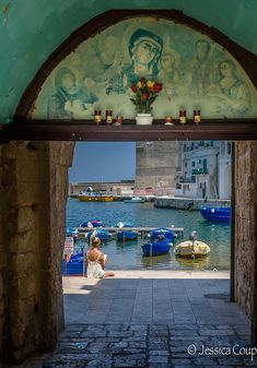 A Perfect Place to Read in Monopoli, Puglia
