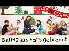 Bei Müllers hat's gebrannt - Singen, Tanzen und Bewegen || Kinderlieder - YouTube Workout, Youtube, Music, Funny, Movies, Movie Posters, Music And Movement, Lyrics, Musica