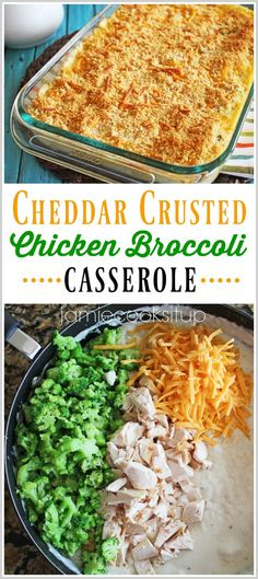 """I am really on a casserole kick as of late. Seriously, they are just the best for days when my family is running around in the afternoon to various activities. I can hear myself saying """"dish …"""