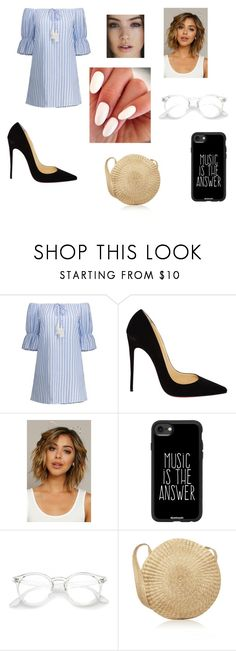 """""""Untitled #142"""" by photogrpahyphreak on Polyvore featuring Christian Louboutin and Casetify"""