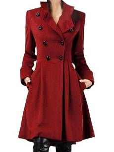 Buy Faux Fur Collar Single Button Diamante Plain Woolen Coat online with cheap prices and discover fashion Coats at Fashionmia.com.