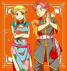 Lucy Heartfilia and Natsu Dragneel - Nalu