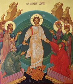 Christ is Risen! Indeed, He is Risen! Christ Is Risen, He Is Risen, Religious Icons, Religious Art, Good Shepard, Orthodox Priest, Jesus Resurrection, Byzantine Icons, Christian Families