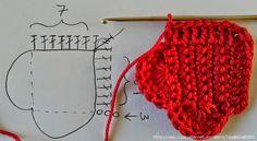Web de crochet y patrones gratis con tutoriales en video, paso a paso y miles de patrones para imprimir Crochet Gifts, Free Crochet, Knit Crochet, Chrochet, Crochet Mandala, Crochet Flowers, Crochet Basket Pattern, Crochet Patterns, Heart Diagram