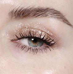 eye makeup, glitter, ideas, inspiration