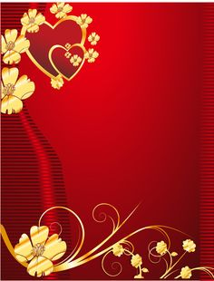 Gold Pattern On Red Heart Shaped Background Material Red Color Background, Valentine Background, Banner Background Images, Background Design Vector, Background Images Wallpapers, Cute Wallpaper Backgrounds, Flower Backgrounds, Photo Backgrounds, Background Patterns