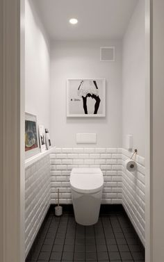 Scandinavian bathroom design ideas with white shades that you . - Scandinavian bathroom design ideas with white shades that you - Scandinavian Bathroom Design Ideas, Bathroom Design Small, Scandinavian Style, Bath Design, Tile Design, Toilet Tiles Design, Scandinavian Toilets, Small Toilet Design, Vanity Design