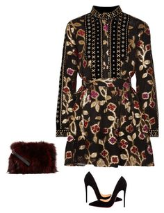 """""""Untitled #360"""" by sb187 ❤ liked on Polyvore featuring Dodo Bar Or, Christian Louboutin and Jocelyn"""