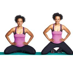 Kegels aren't the only way to fight incontinence issues. Here's how to strengthen your pelvic floor. Pilates, Fitness Tips, Health Fitness, Fitness Exercises, Pelvic Floor Exercises, Diastasis Recti, Floor Workouts, Physical Therapy, Get Healthy